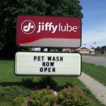 Featuring Dog Washing Station at Jiffy Lube 2011-06-17 10.43.55
