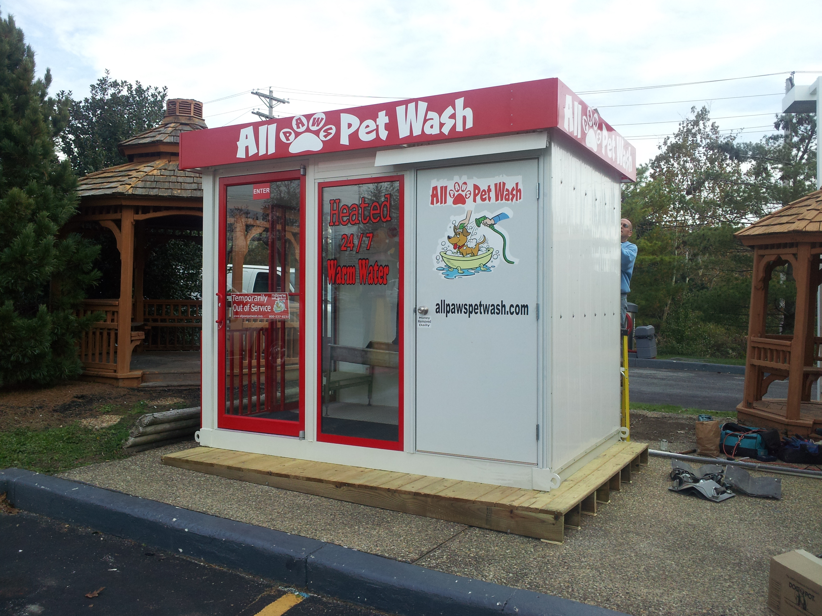 Car Wash Pet Wash & Dog Bath Stations Pet Wash Installations