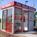 Self Serve Dog Washing Station