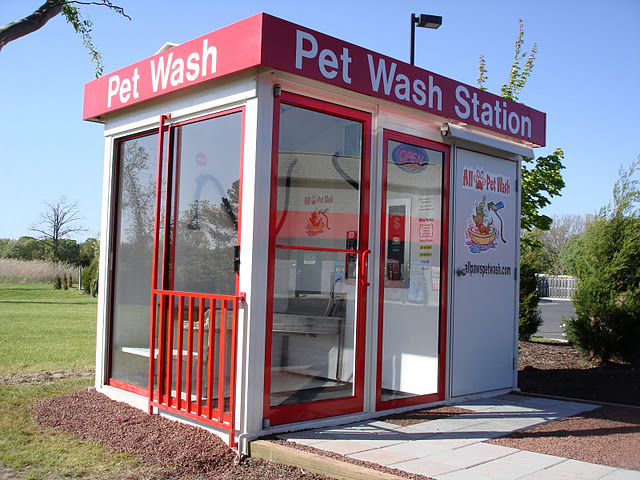 Outdoor dog washing station outdoor designs self serve dog wash system grooming all paws pet solutioingenieria Gallery