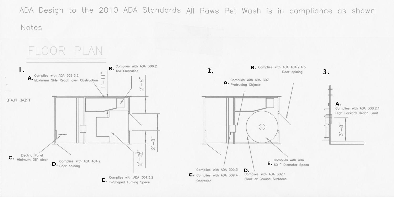 Ada Compliant Pet Wash