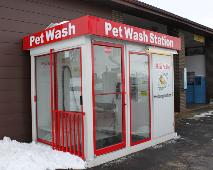 Car wash dog wash all paws pet wash all paws pet wash self serve pet wash stations make great additions to car wash locations solutioingenieria Images