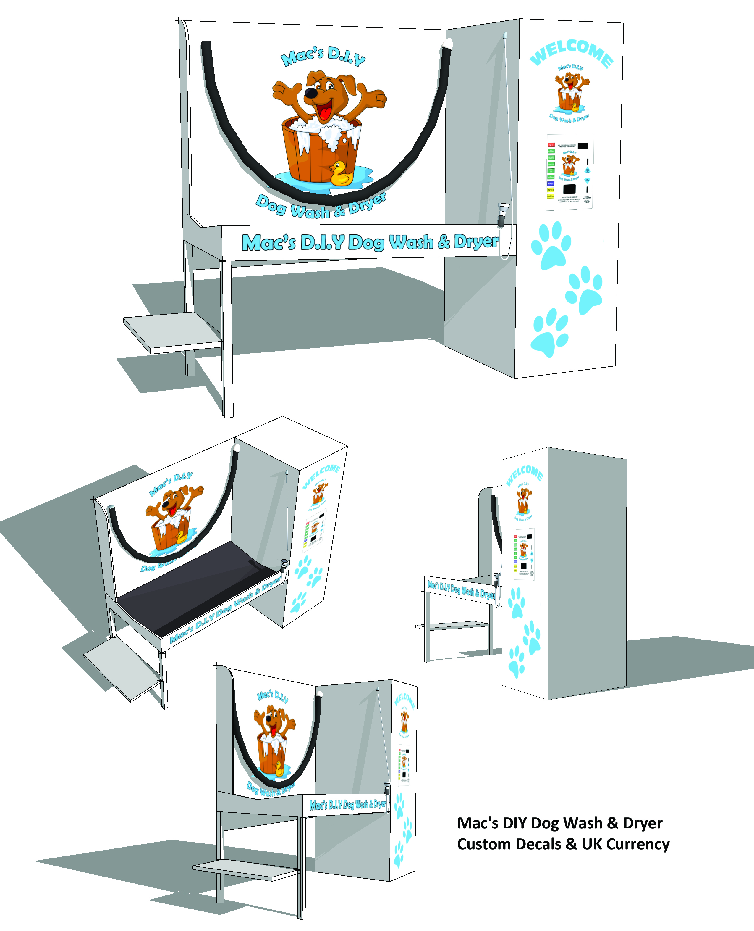 Example designs all paws pet wash macs diy dog wash solutioingenieria Image collections