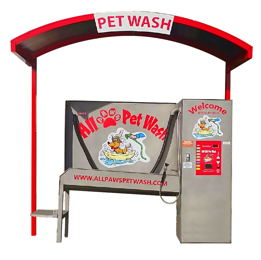 Pet Wash Under Awning